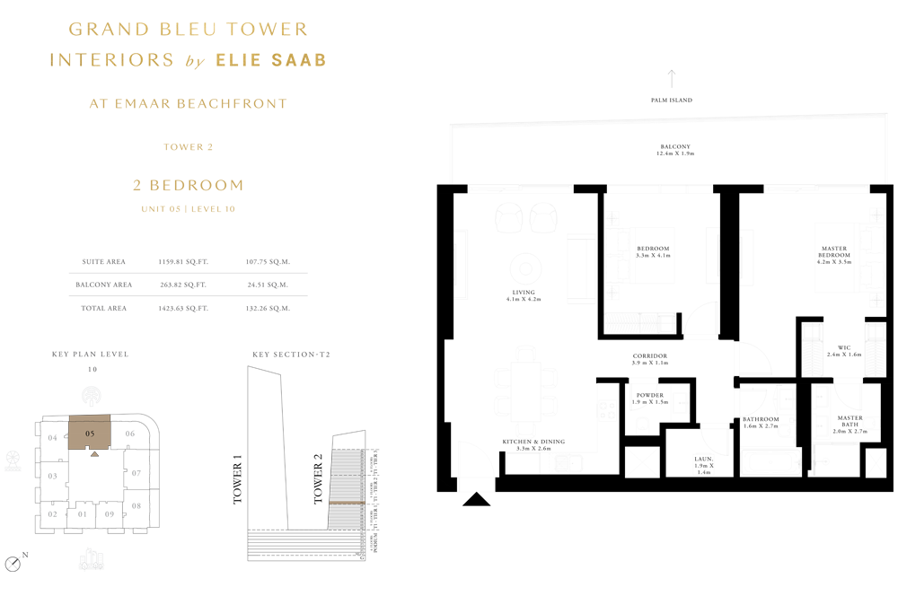 2 Bed, Unit-05-Level-10