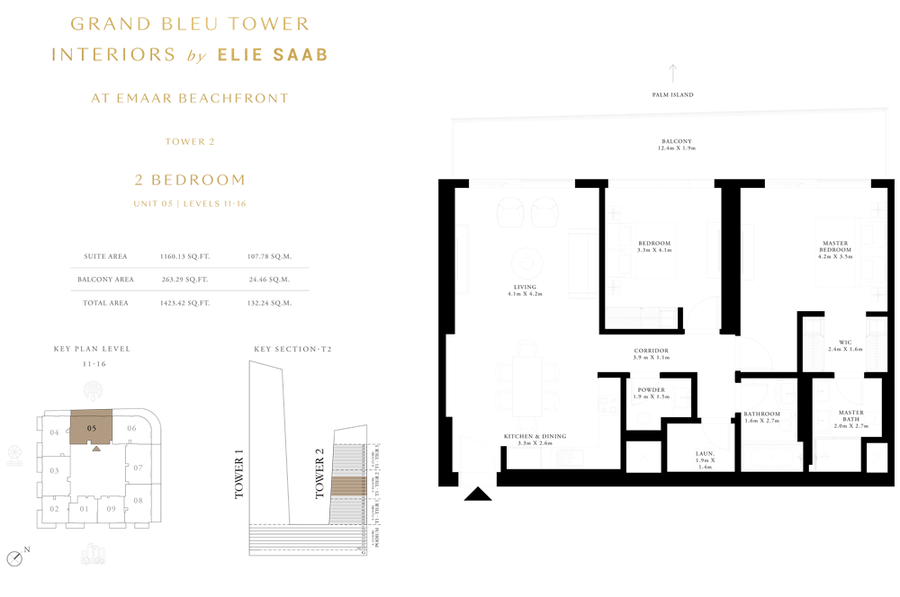 2 Bed, Unit-05-Level-11-16
