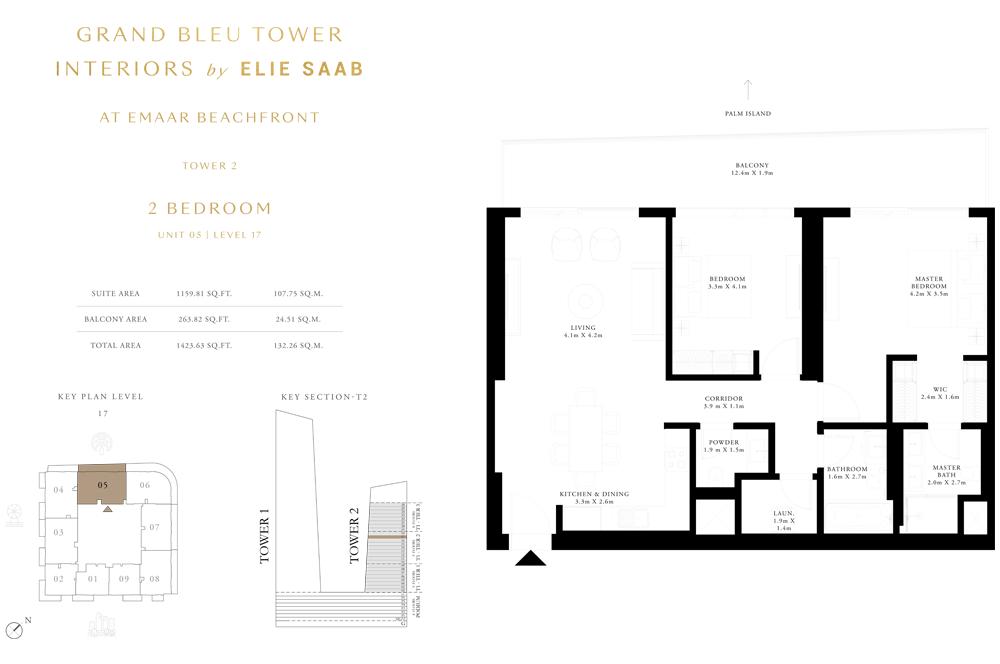 2 Bed, Unit-05-Level-17