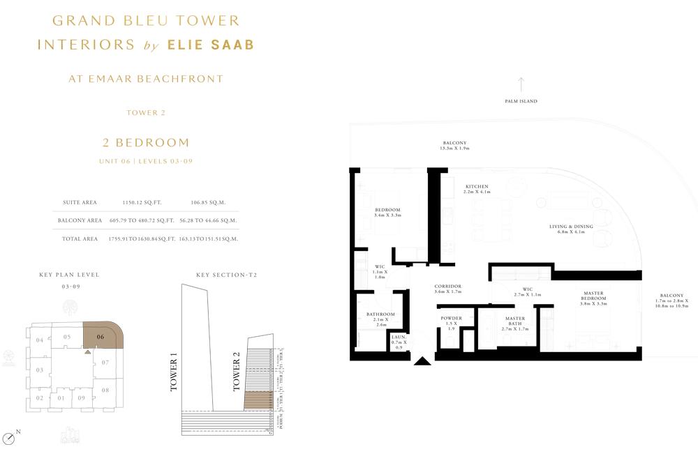 2 Bed, Unit-06-Level-03-09