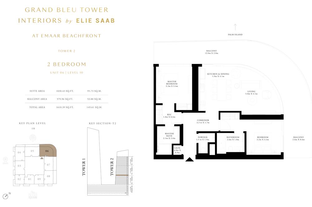 2 Bed, Unit-06-Level-10