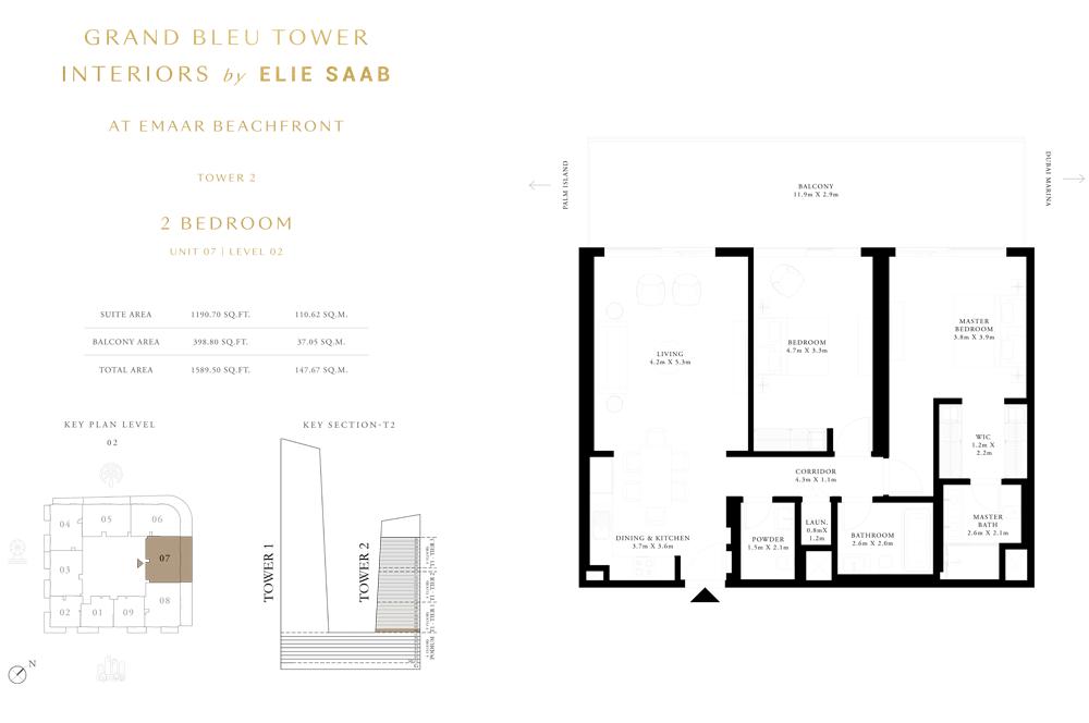 2 Bed, Unit-07-Level-02
