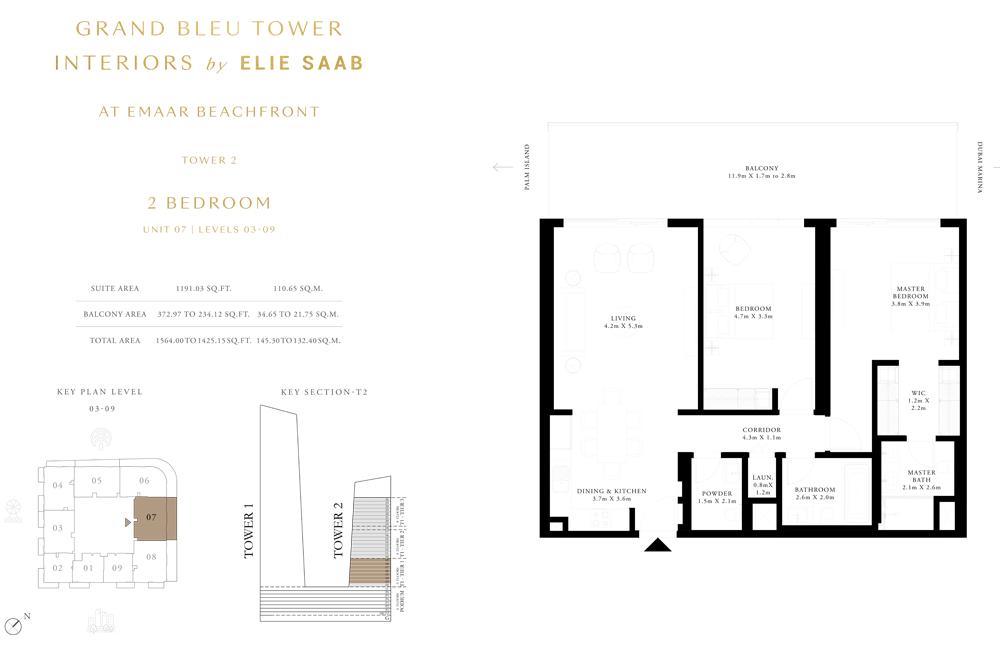 2 Bed, Unit-07-Level-03-09