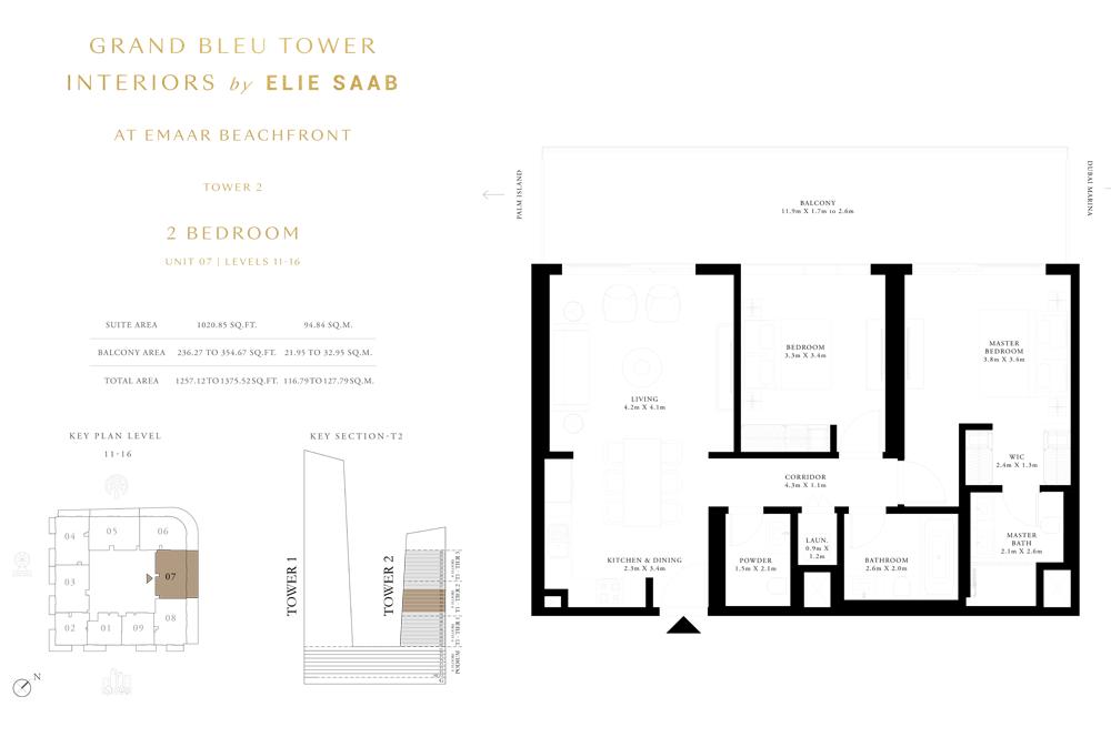 2 Bed, Unit-07-Level-11-16
