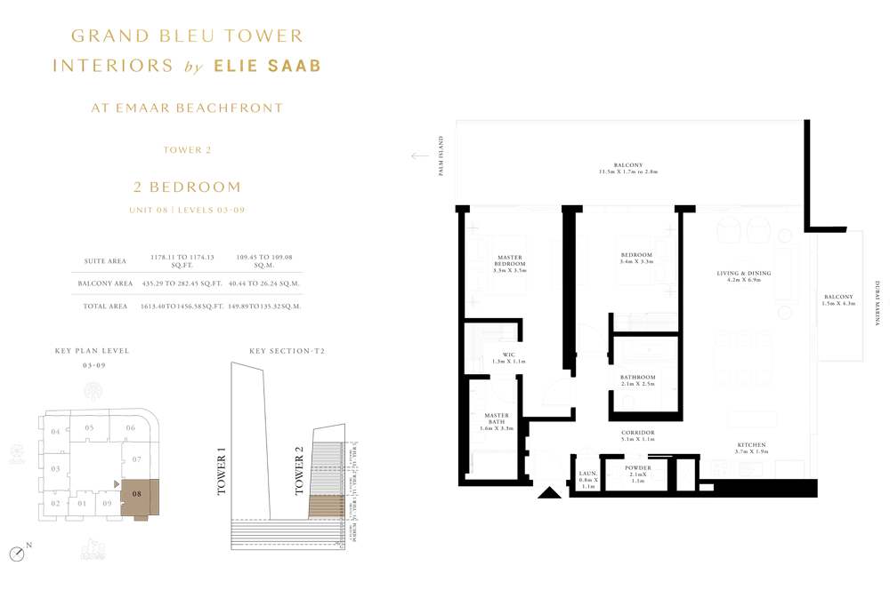 2 Bed, Unit-08-Level-03-09