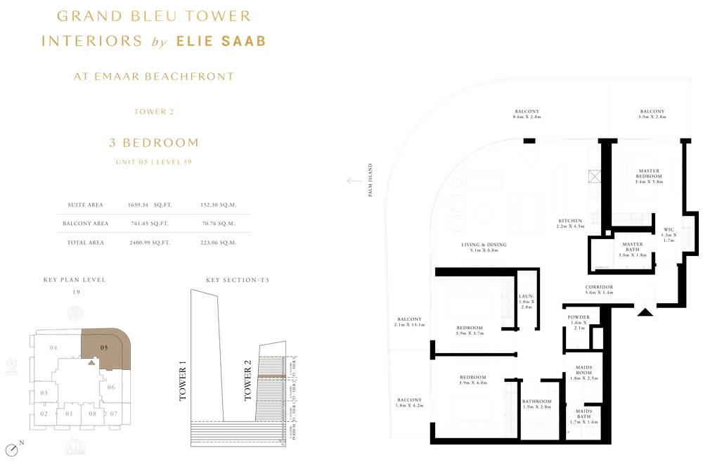 3 Bed, Unit-05-Level-19