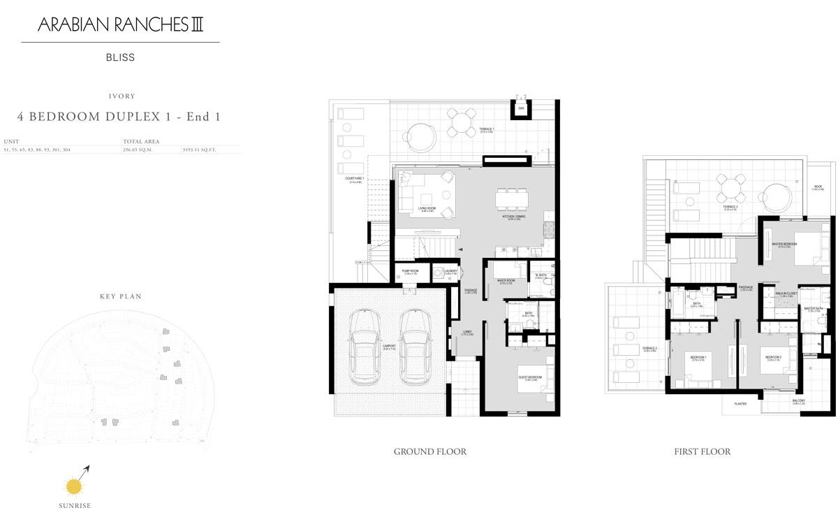 4 Bedroom Duplex 1 - End 1