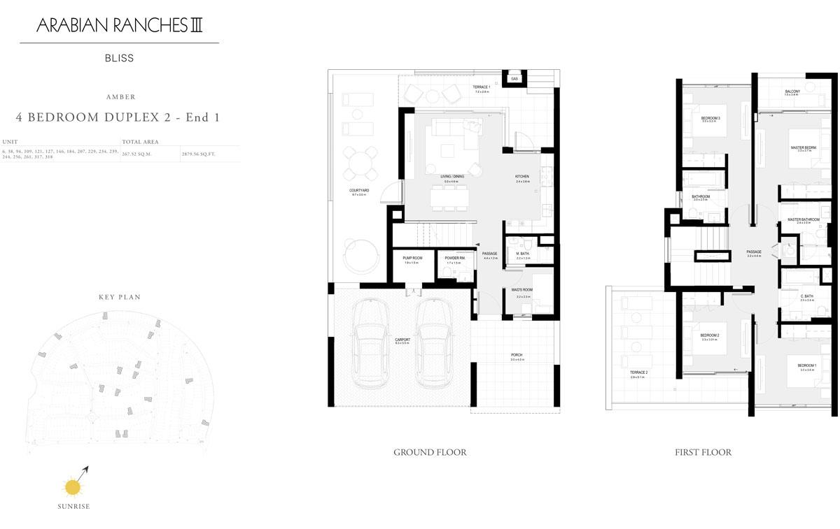 4 Bedroom Duplex 2 - End 1