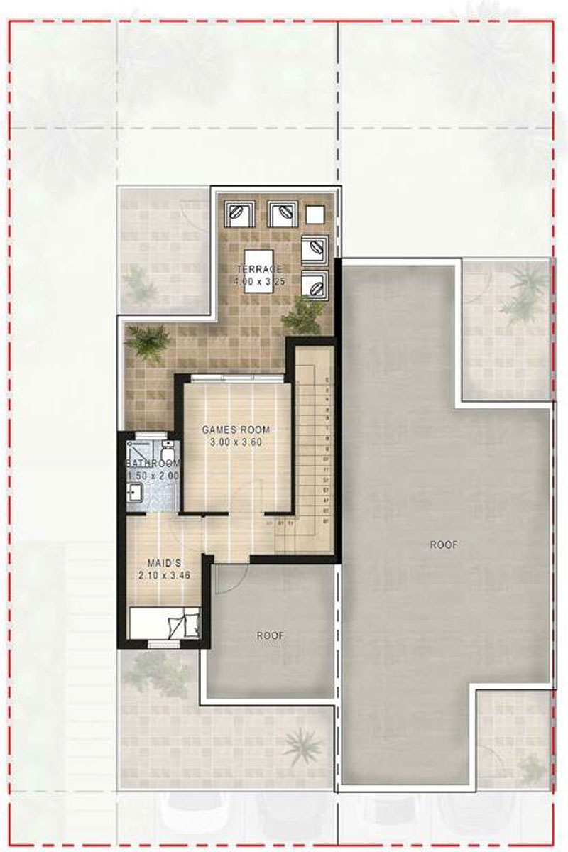 3 Bedrooms and 4 Bedrooms + Maid Room