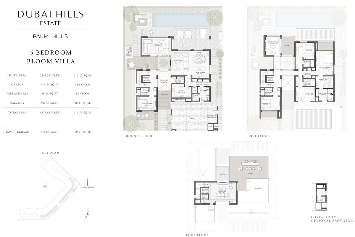 5 Bedroom, Bloom Villa