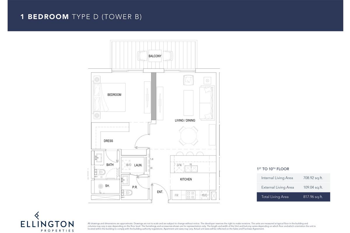 Type D, 1st To 10th Floor