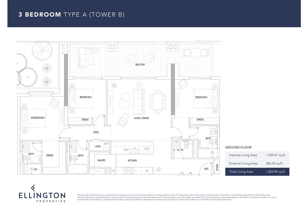 Type A, Ground Floor