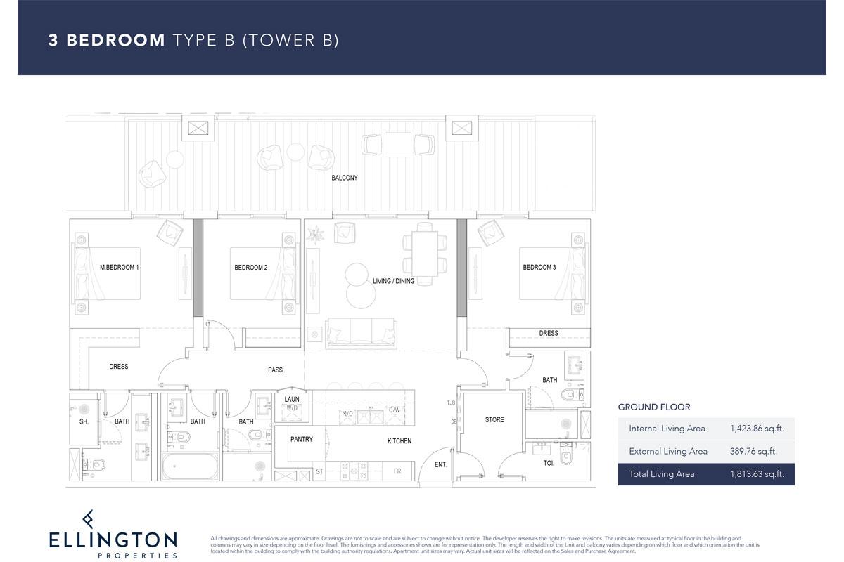 Type B, Ground Floor