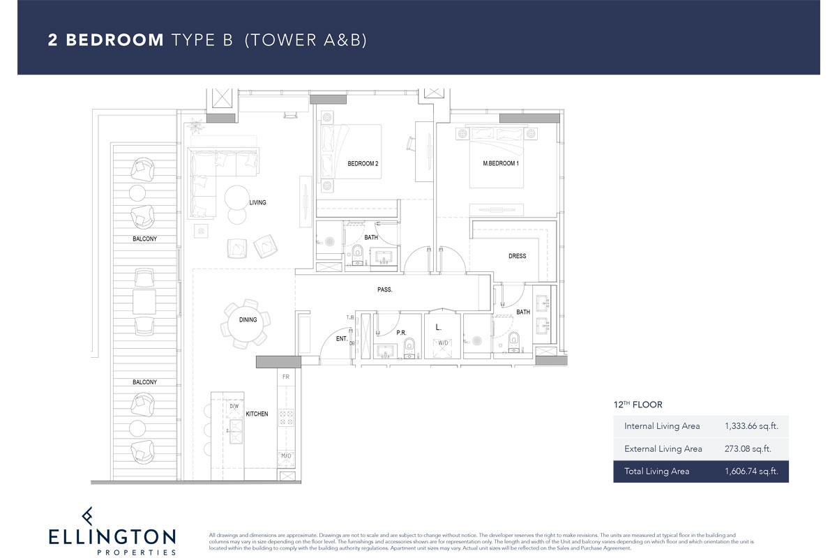 Type B, 12th Floor