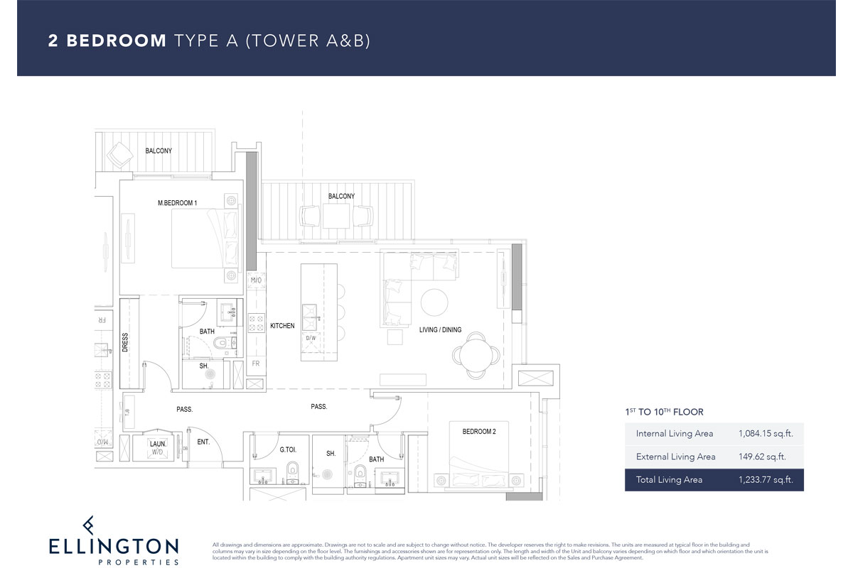 Type A, 1st To 10th Floor