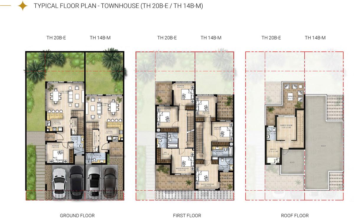 Townhouse TH 20B-E TH14B-M