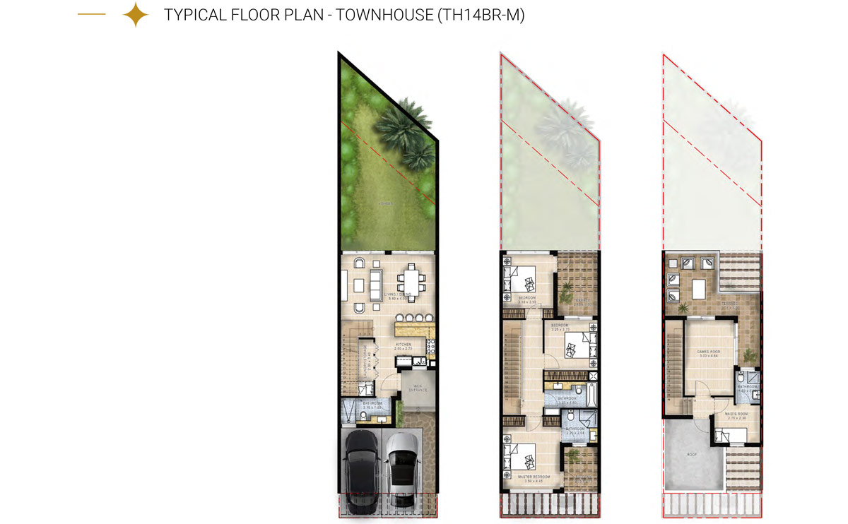 Townhouse TH14BR-M