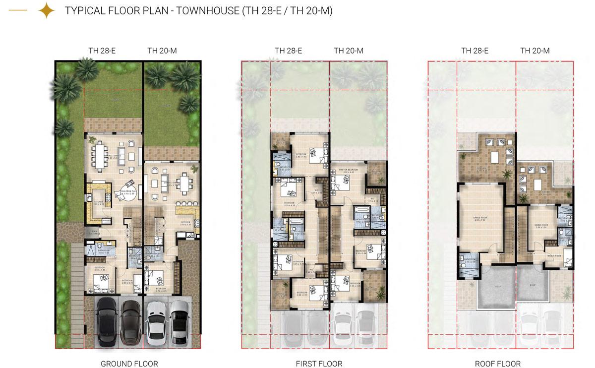Townhouse TH28-E TH20-M