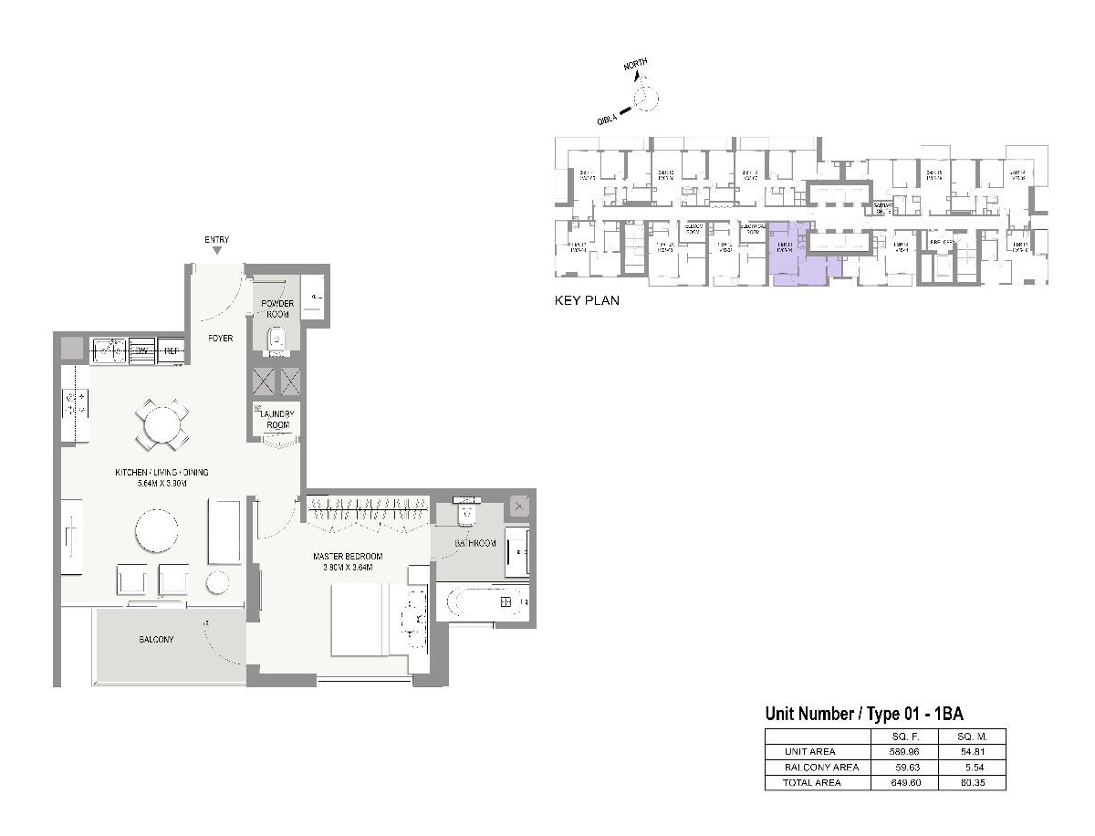 Type-01-1 Be-Apartments