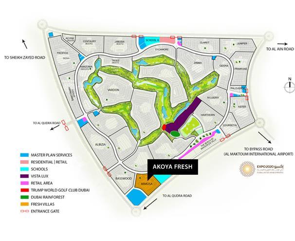 Akoya Fresh Villas -  Master Plan
