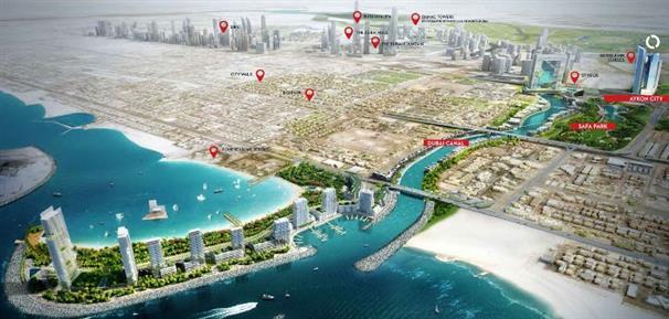Aykon City Tower -  Master Plan