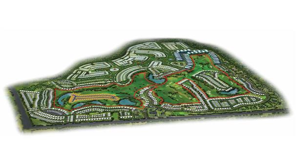 Akoya Fendi Styled Villas -  Master Plan
