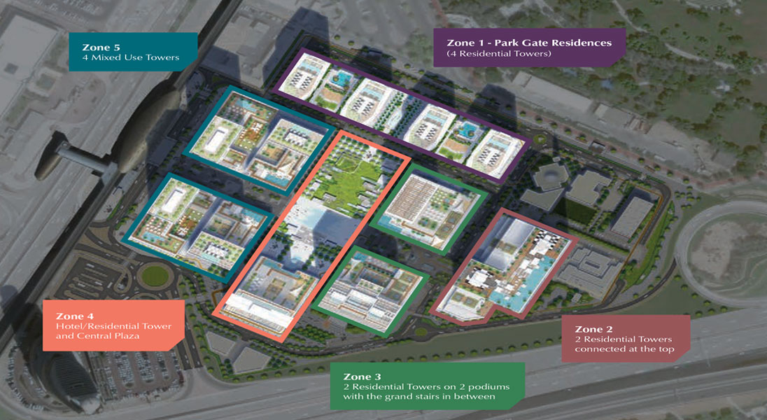 Park-Gate-Residence Master Plan