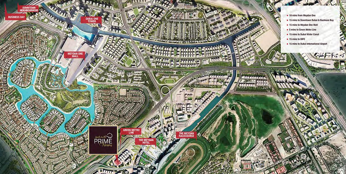 Prescott-Prime-Views-Meydan Master Plan