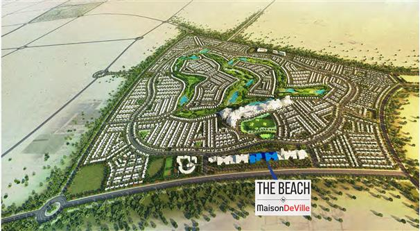 The-Beach-By-Maison-DeVille Master Plan