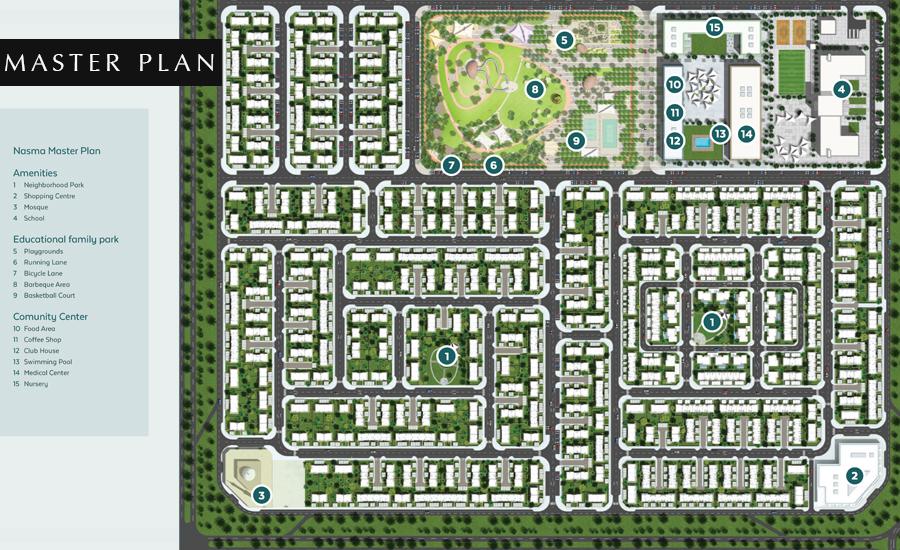 Nasma-Residences Master Plan