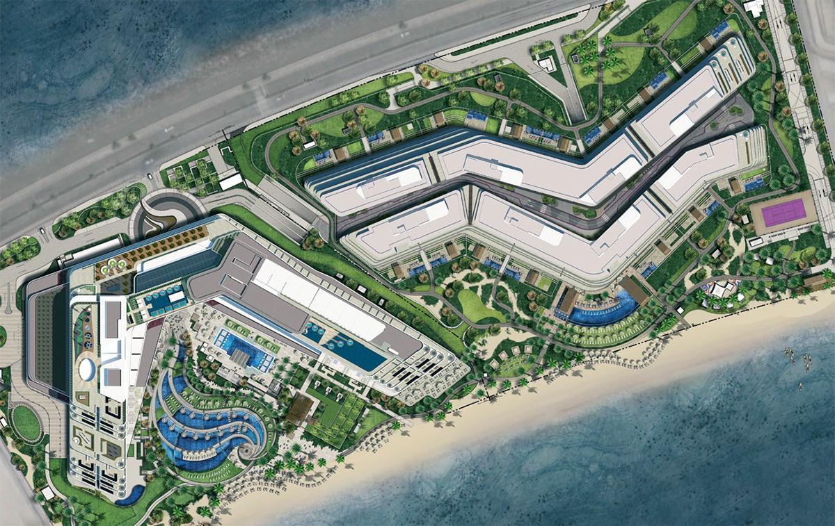 Alef-Residences Master Plan