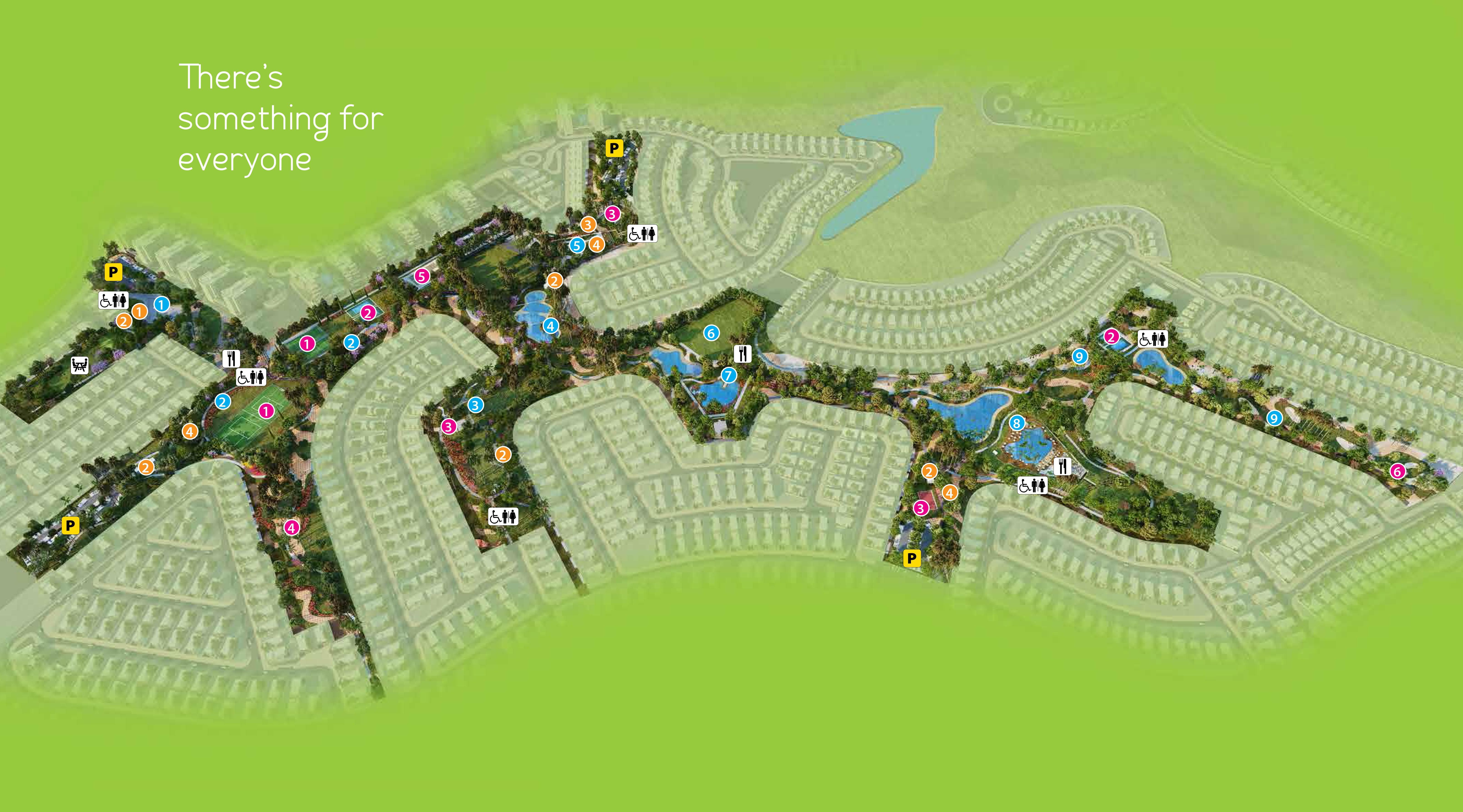 The-Park-Villas Master Plan