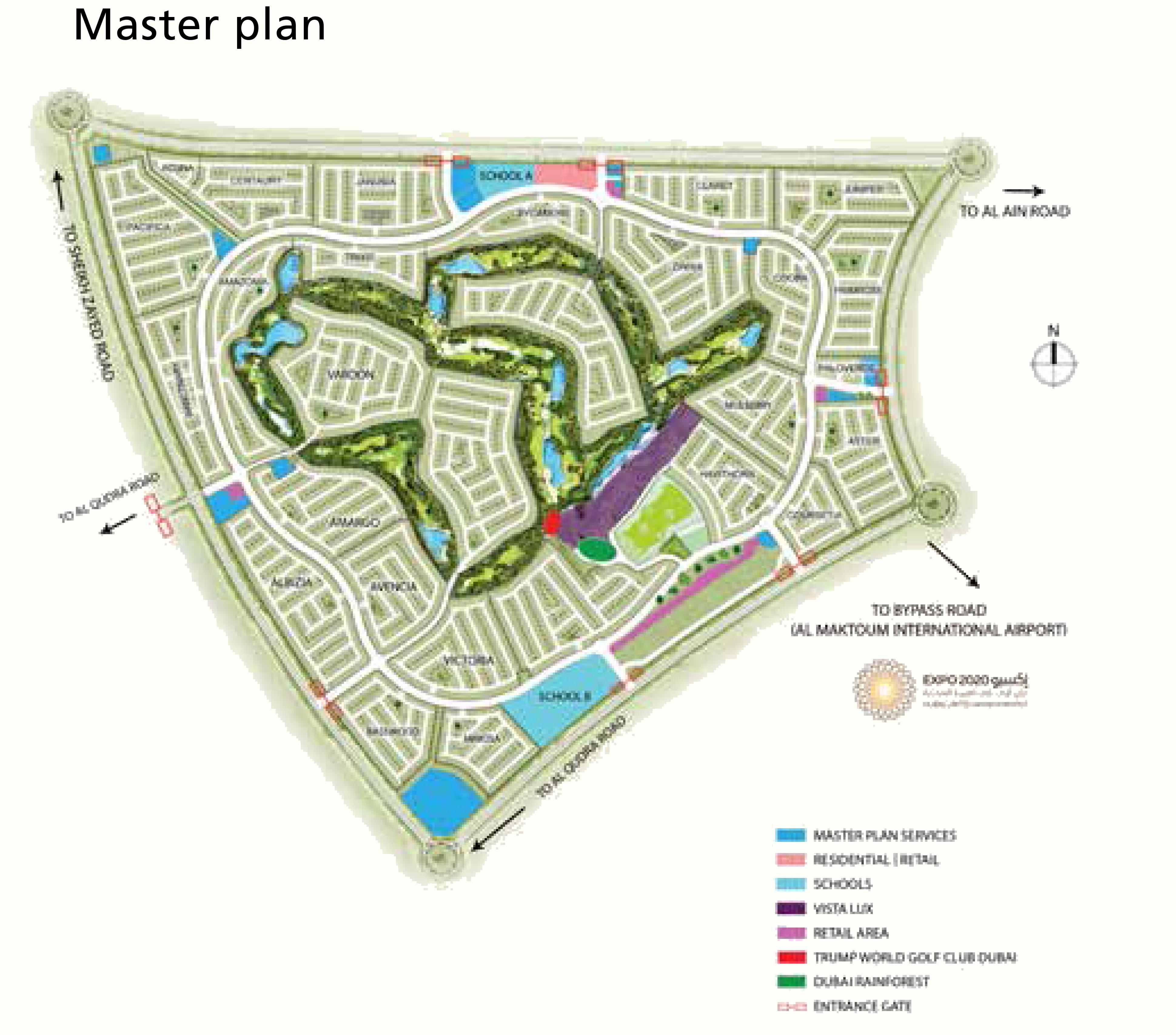 Sahara-Villas Master Plan