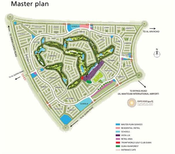 Sahara Villas -  Master Plan