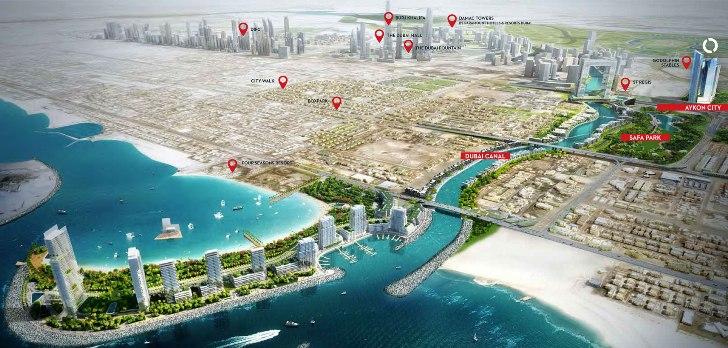 Aykon-City-Tower Master Plan