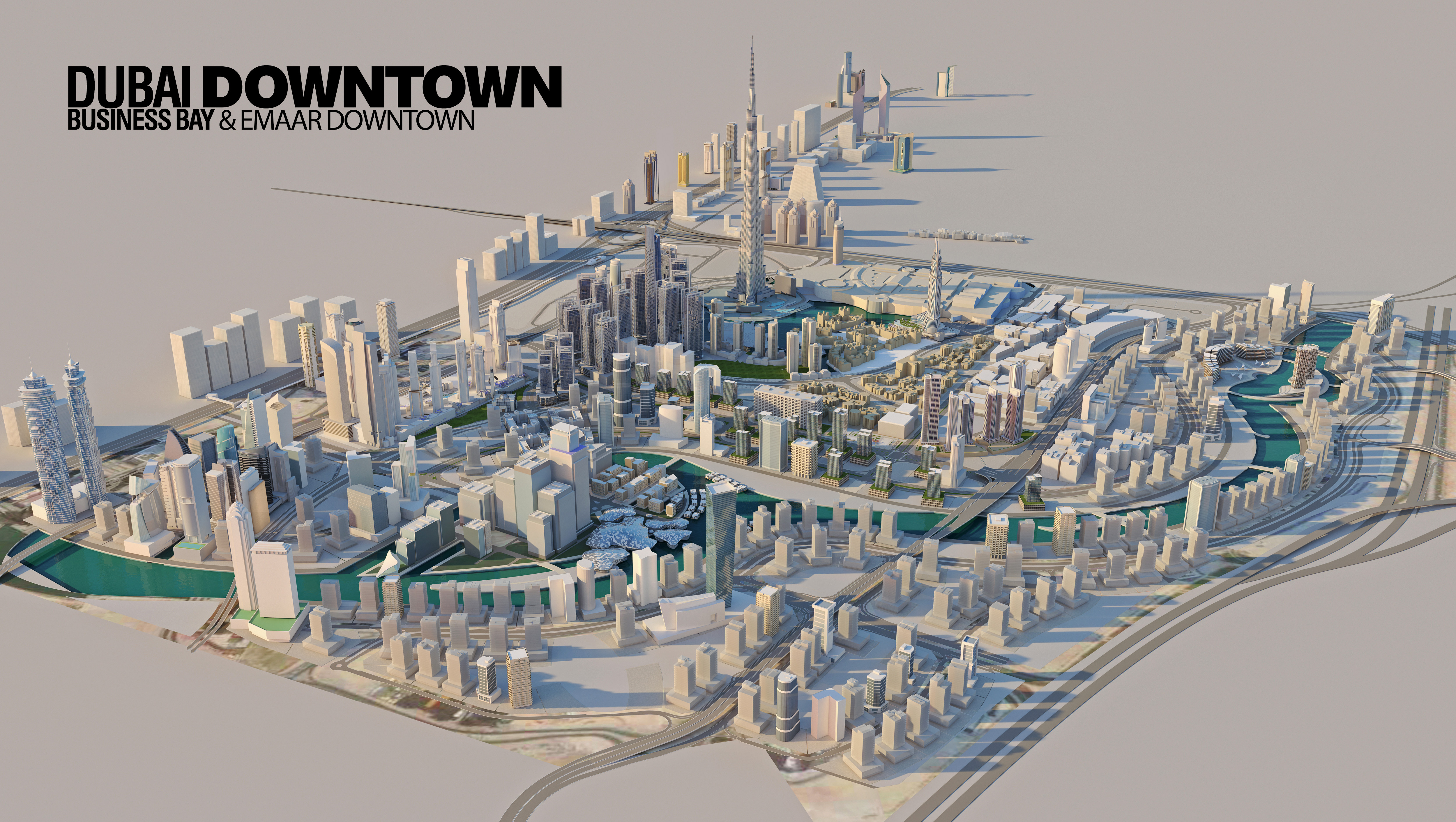 Vida-Dubai-Mall Master Plan