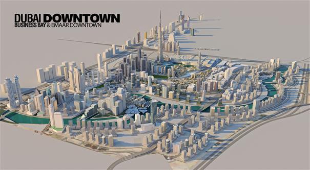 Vida Dubai Mall -  Master Plan