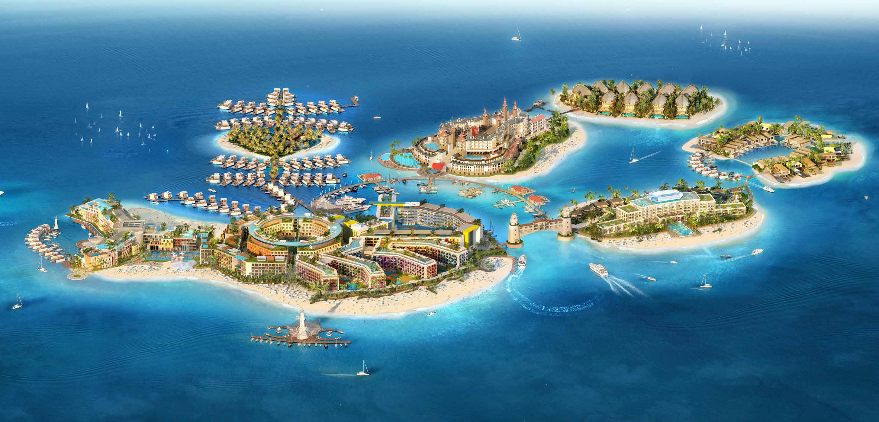 Cote-D-Azur-Hotel-Apartments Master Plan