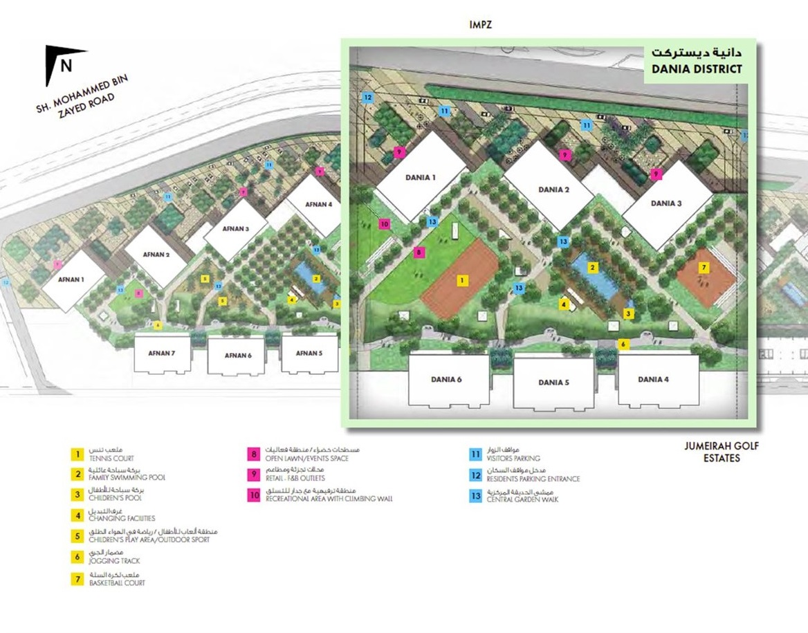 Midtown-Dania-District Master Plan