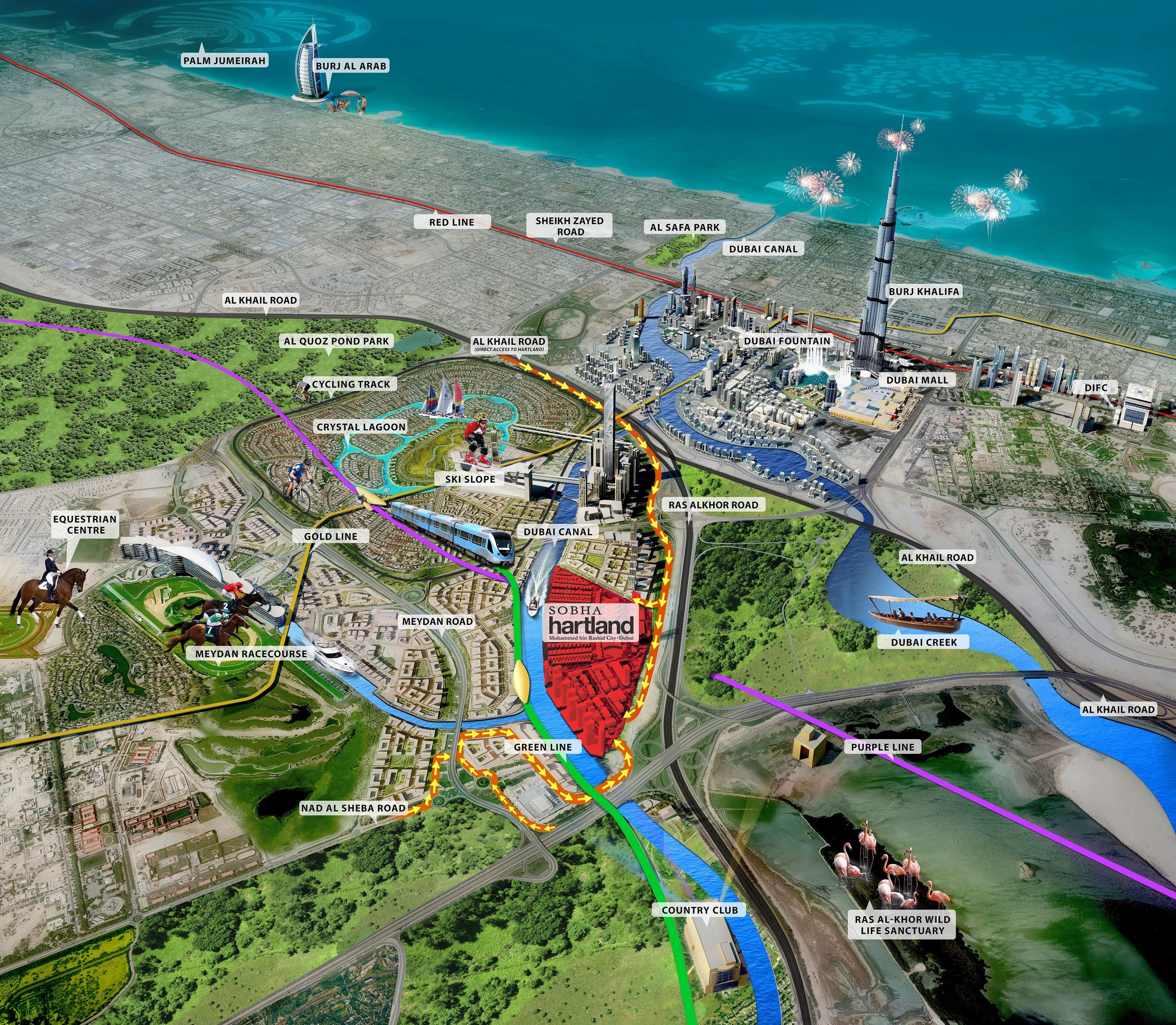 Hartland-Greens Master Plan