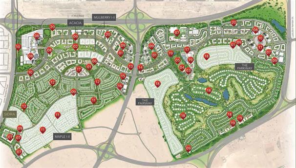 Golf Place Villas -  Master Plan