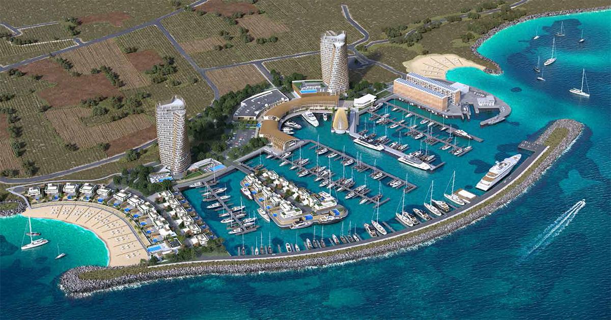 Ayia-Napa-Marina Master Plan