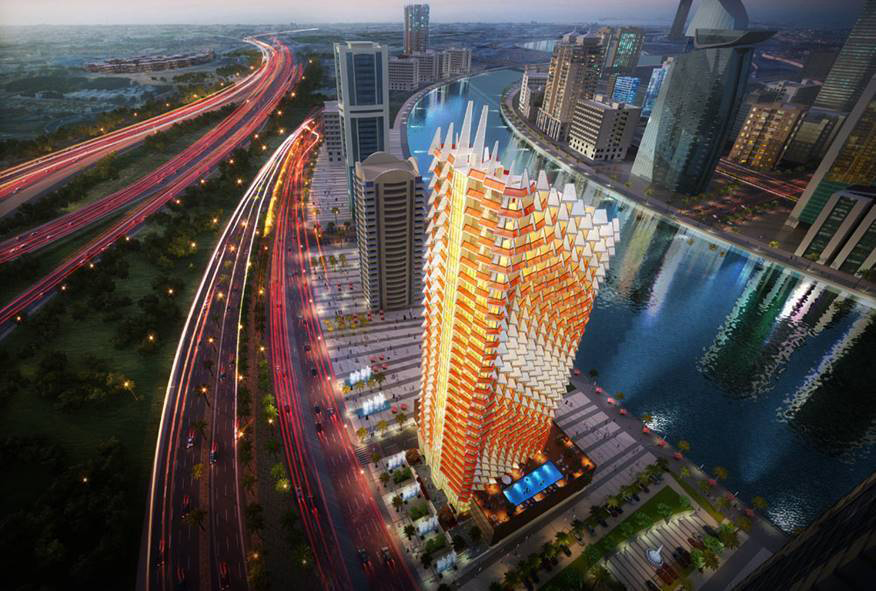 Millennium-Binghatti-Residences Master Plan