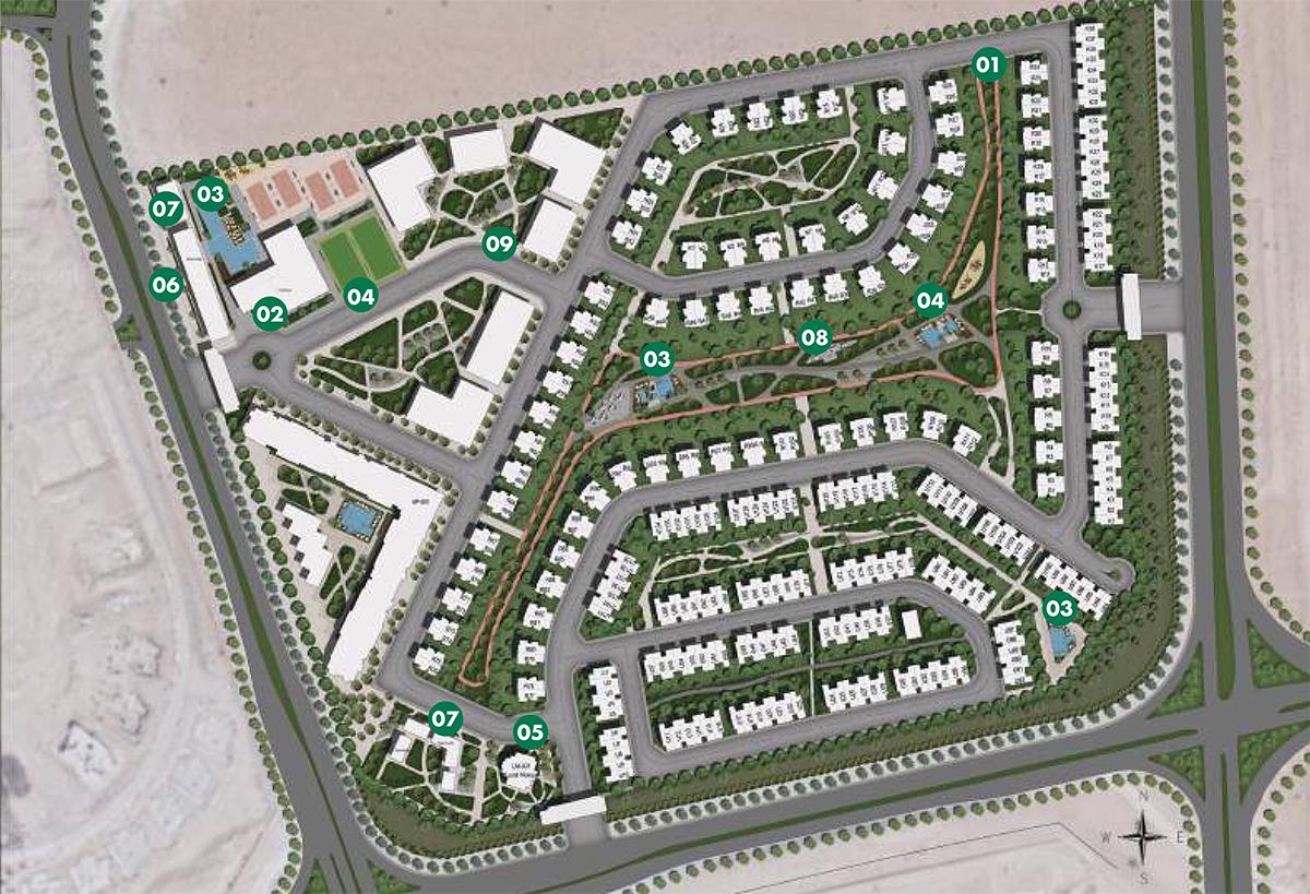 Rukan-Apartments Master Plan