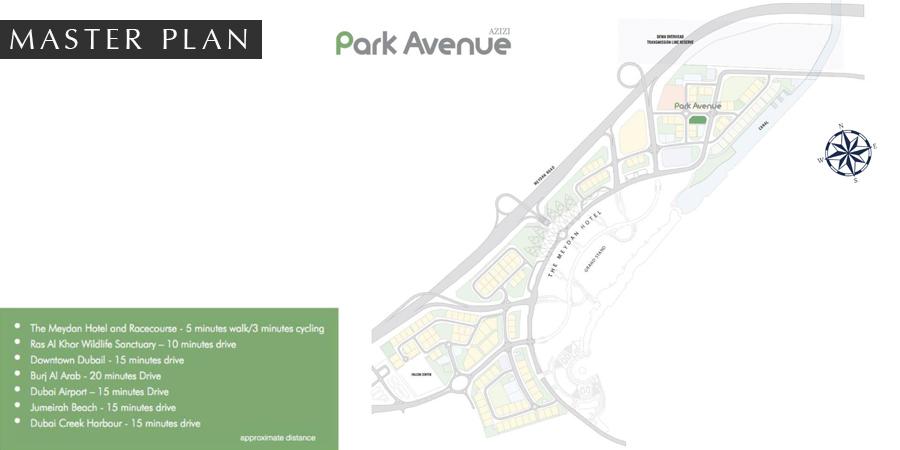 Azizi-Park-Avenue Master Plan