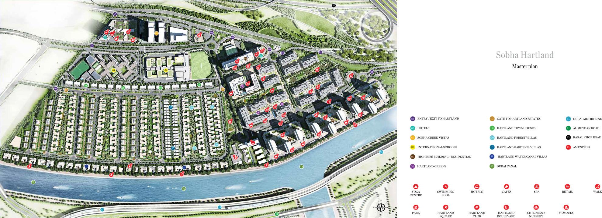 Hartland-Greens-4 Master Plan