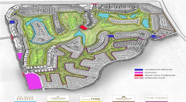 Damac-Hills-Villas Master Plan