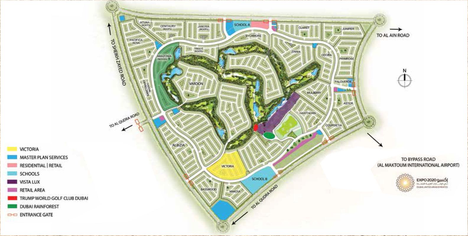 Hajar-Villas Master Plan