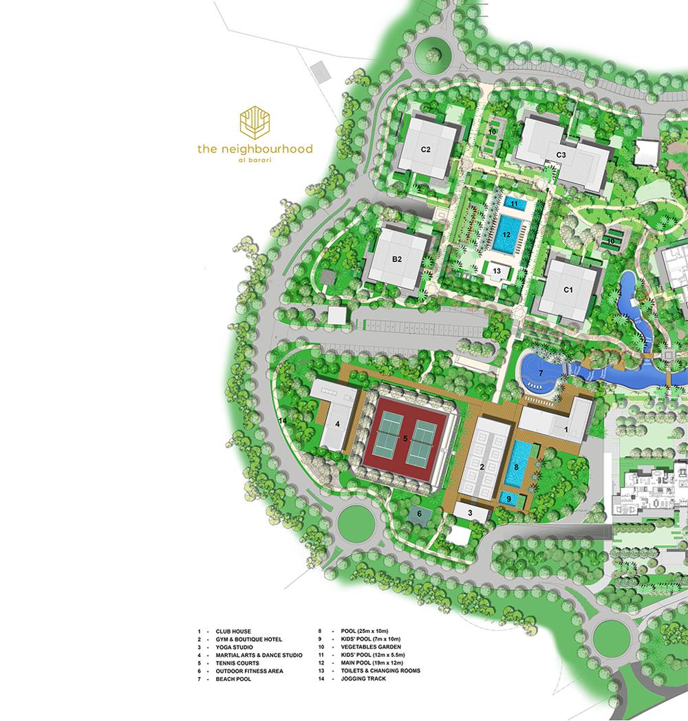 The-Neighbourhood Master Plan