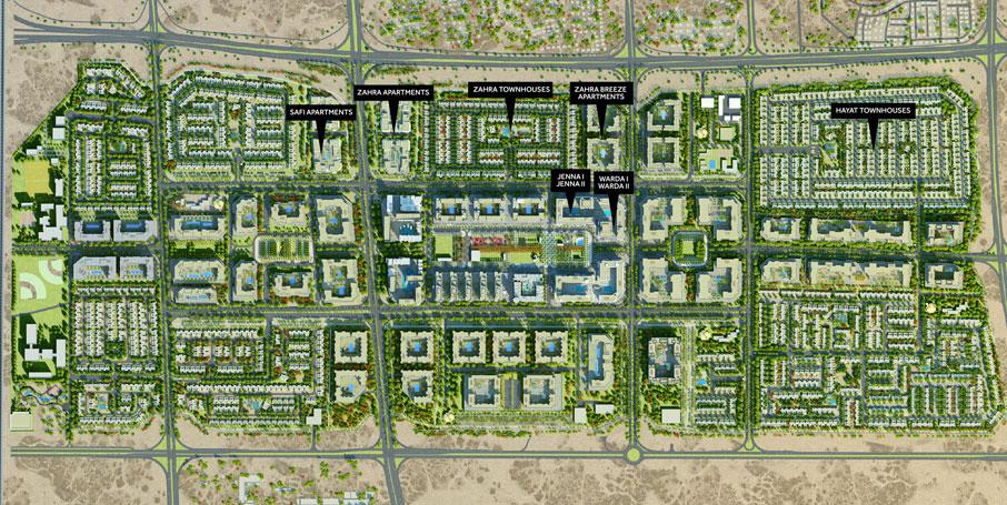 Sama-Townhouses Master Plan